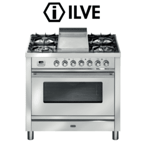 ILVE P90FWMP 90cm Stove/Cooker - Electric Oven & Gas Cooktop