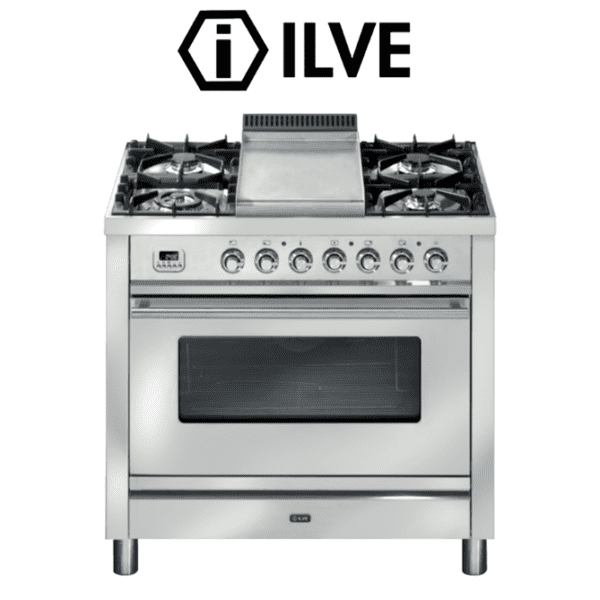 ILVE P90FWMP 90cm Stove/Cooker – Electric Oven & Gas Cooktop