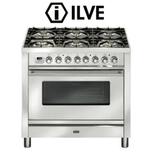 ILVE PW906VG 90cm Stove Cooker - Electric Oven & Gas Cooktop