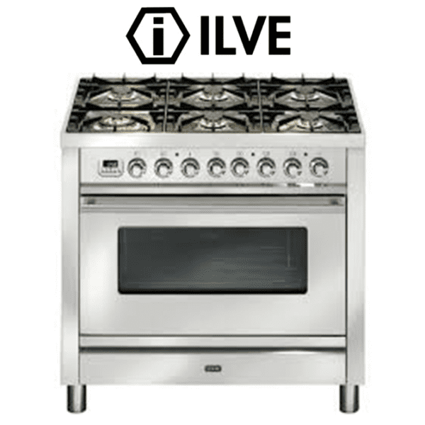 ILVE PW906VG 90cm Stove Cooker – Electric Oven & Gas Cooktop