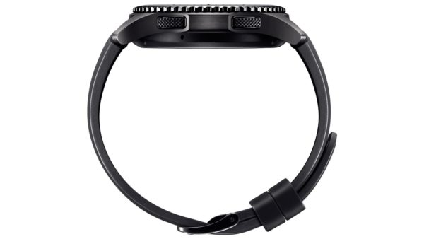 Samsung 1091101053 Gear S3 Frontier Black-back view