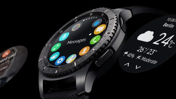 Samsung 1091101053 Gear S3 Frontier Black-display