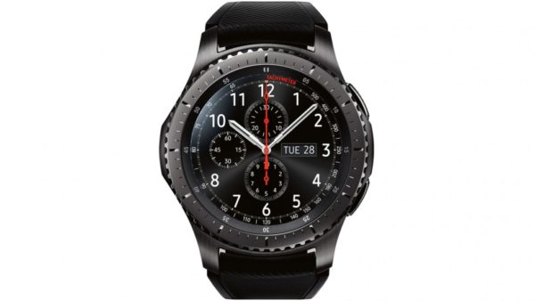 Samsung 1091101053 Gear S3 Frontier Black-front view