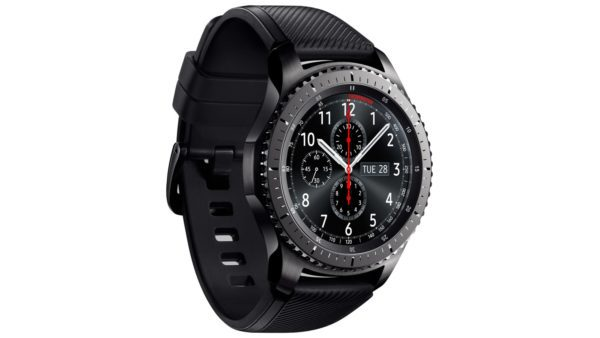 Samsung 1091101053 Gear S3 Frontier Black side view