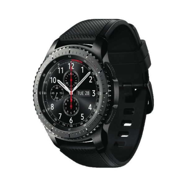 Samsung 1091101053 Gear S3 Frontier Black-side view