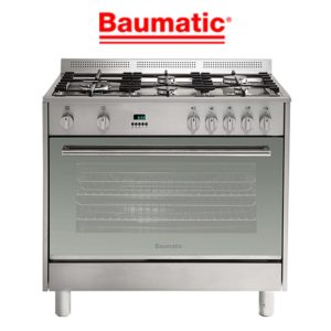 Baumatic BAF90EG 90cm StoveCooker – LPG and Natural Gas Oven-Cooktop-web ready