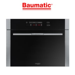 Baumatic BSCS45 Studio Solari 60cm 6 Function 38 litre Steam Oven-web ready