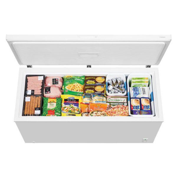 Westinghouse WCM5000WD 500L Chest Freezer-top view