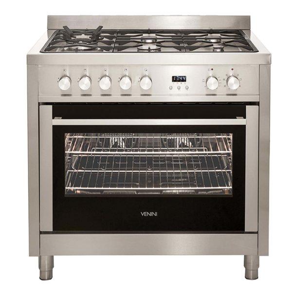 Venini VU90EG 90cm Dual Fuel Cooker Stove