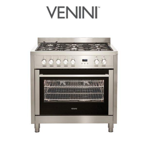 Venini VU90EG 90cm Dual Fuel Cooker Stove-web-ready