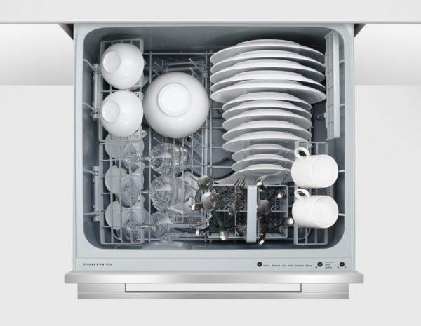 Fisher-Paykel-DD60SDFTX9-Single-DishDrawer-Dishwasher-Open-high