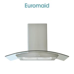 Euromaid AAG9SE3 90cm Glass Canopy Rangehood