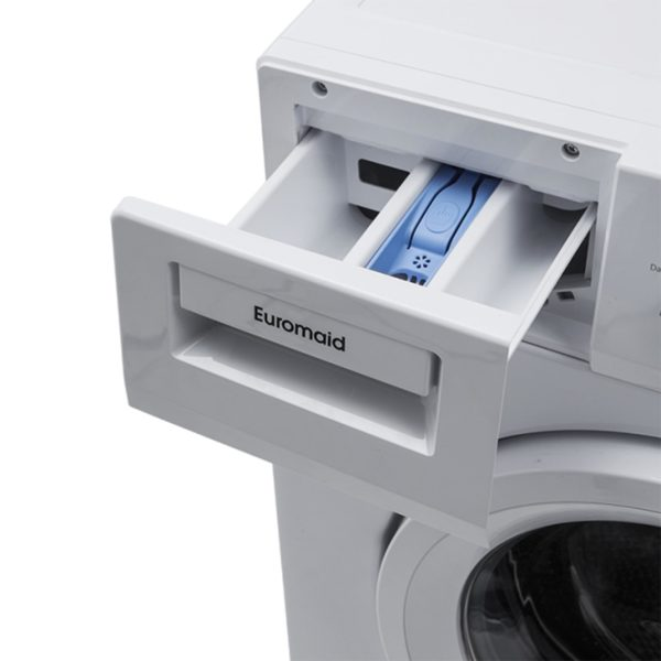 Euromaid WMFL9 60cm Front Load 9kg Washing Machine-detergent dispenser