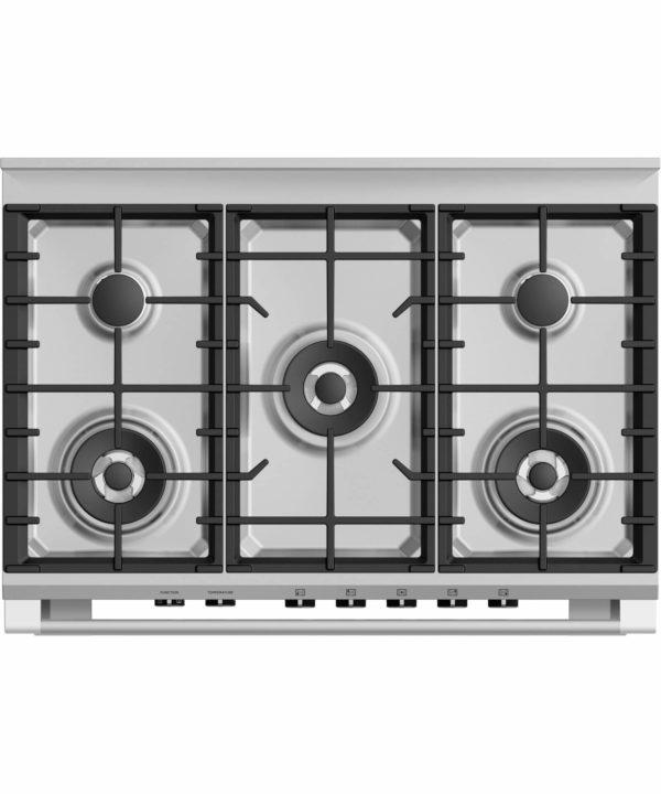 Fisher-Paykel OR90SCG4B1 Freestanding Cooker, 90cm, Dual Fuel OvenStove (cooktop)