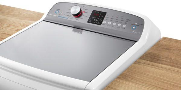 Fisher-Paykel WA8560P1 FabricSmart™ Top Load 8.5kg Washing Machine (top-view)