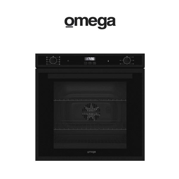 Omega OO60B 60cm Electric Oven Matt Black (web-ready)