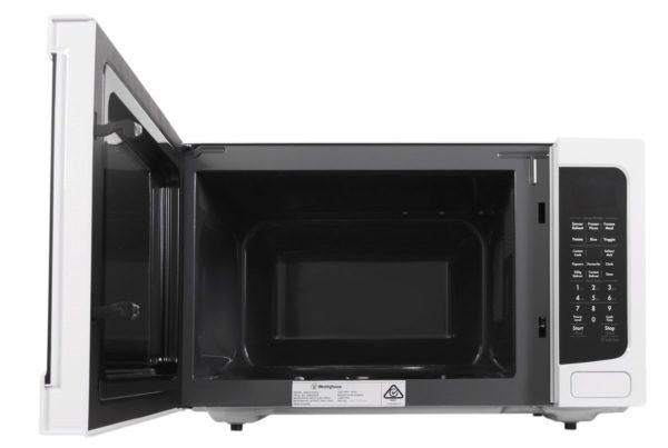 Westinghouse WMF4102WA 40L Countertop Microwave Oven (door-open)