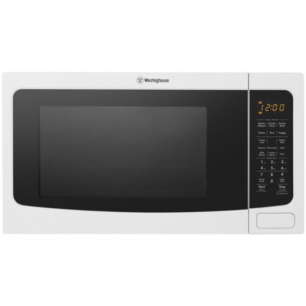 Westinghouse WMF4102WA 40L Countertop Microwave Oven (front-view)