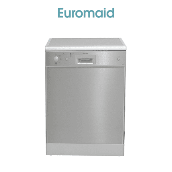 Euromaid DC14S 60cm Dishwasher Stainless Steel 5 Program
