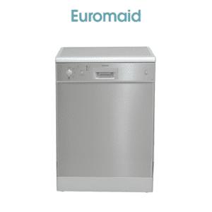 Euromaid DC14S 60cm Dishwasher Stainless Steel 5 Program (web-ready)