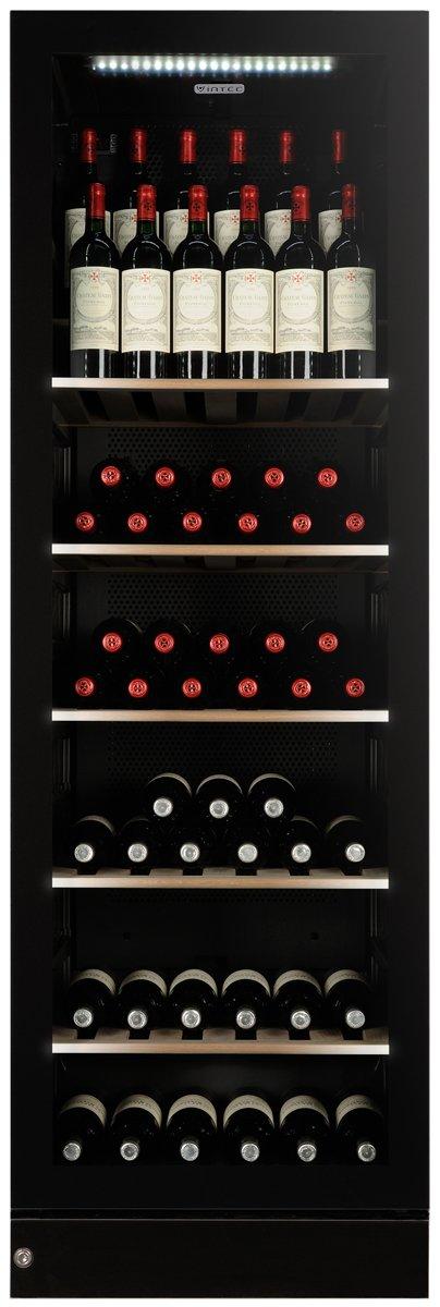 Vintec V190SG2E-BKLH 170 Bottle Wine Cellar