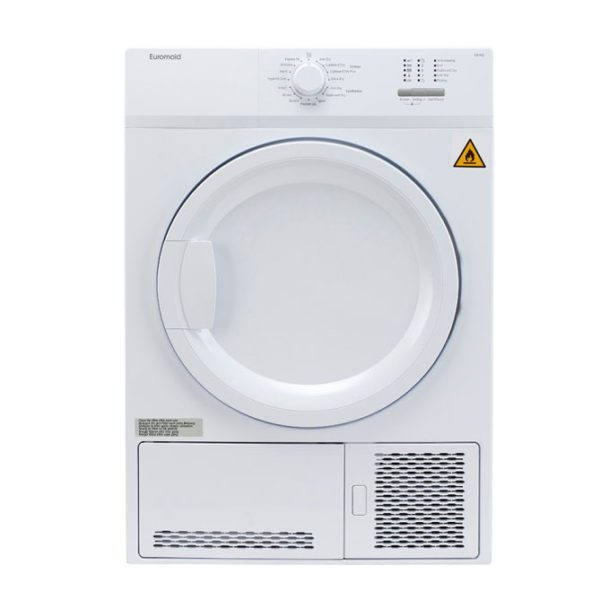 Euromaid CD7KG 7kg Condensor Dryer (front-view)