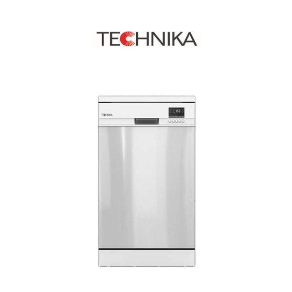 Technika TSDW14GG – 60cm Stainless Steel Freestanding Dishwasher
