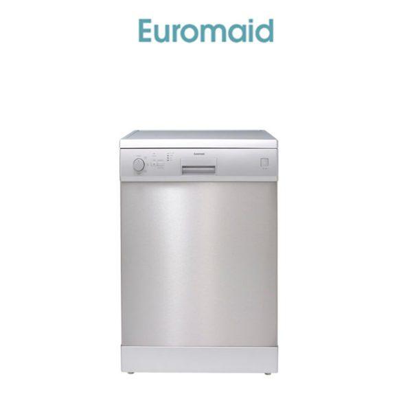 Euromaid EDW14S 60cm Dishwasher Stainless Steel 5 Program