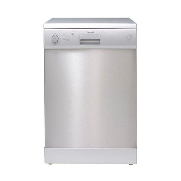 Euromaid EDW14S 60cm Dishwasher Stainless Steel 5 Program (front view)