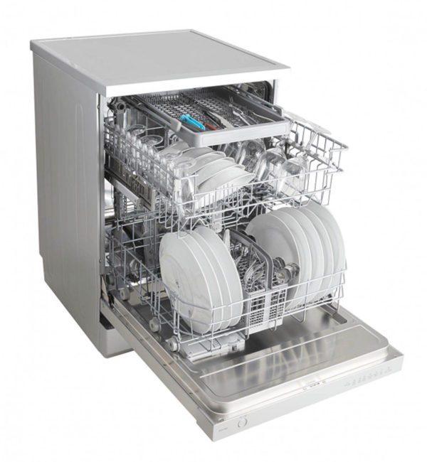 Euromaid EDW14S 60cm Dishwasher Stainless Steel 5 Program (side full)