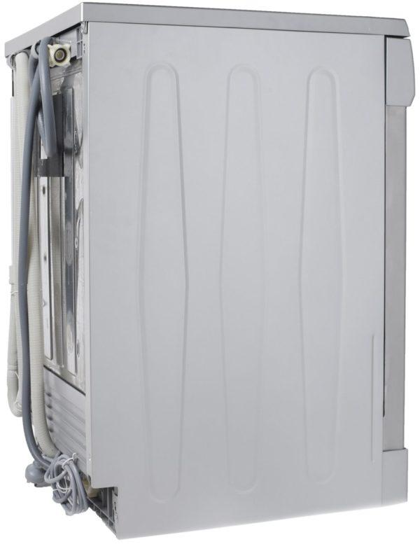 Euromaid EDW14S 60cm Dishwasher Stainless Steel 5 Program (side view)