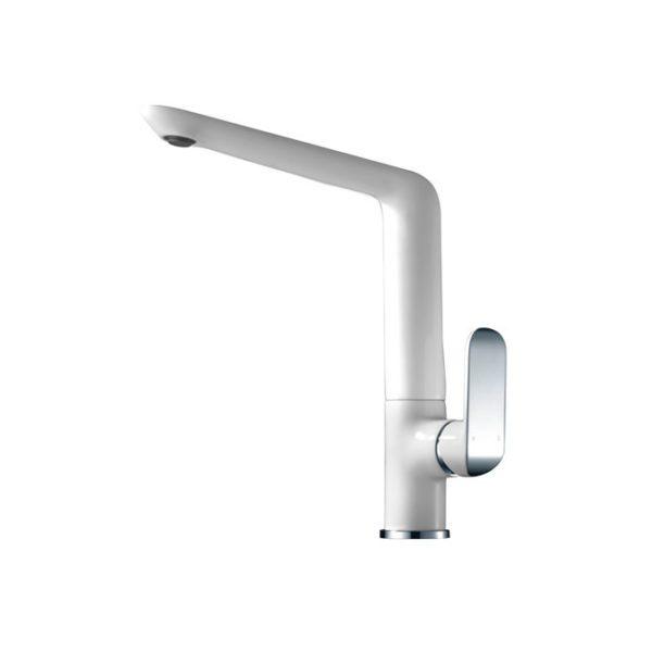 IKON HYB11-101CW KARA Sink Mixer- White & Chrome