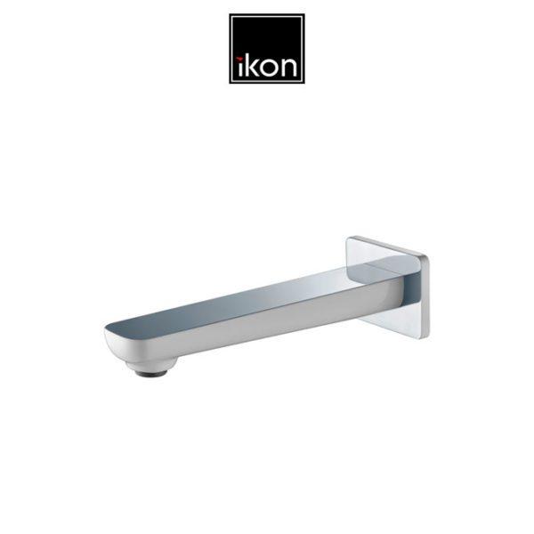 IKON HYB66-801CW SETO Bath Spout- White & Chrome