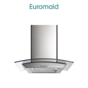 Euromaid AAG6SE1 60cm Glass Canopy Rangehood
