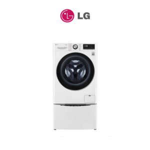 LG WV9-1409W-WTP20WY 11kg Total Front Load Washing Machine TWINWash® System including LG MiniWasher with Steam+