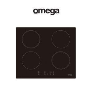Omega OCI66PP 60cm 4 Zone Induction Electric Cooktop