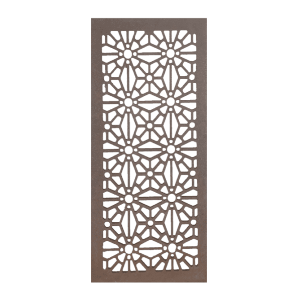 Christchurch – Australian Compressed Hardwood – Privacy Garden Screens Australian Made – 600 x 1200 mm – 9 mm