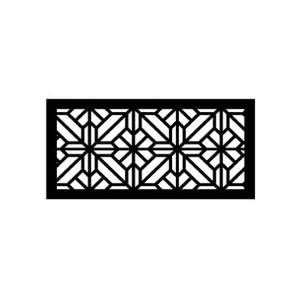 Washington – Australian Compressed Hardwood – Privacy Garden Screens Australian Made – 600 x 1200 mm – 9 mm