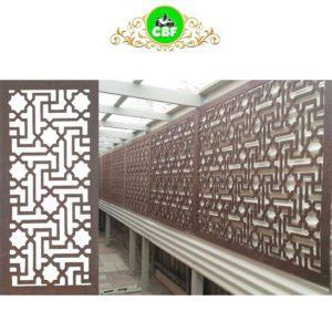 Istanbul - Australian Compressed Hardwood - Privacy Garden Screens Australian Made - 600 x 1200 mm - 9 mm