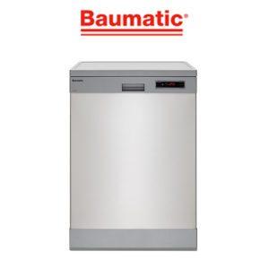 Baumatic BDW16BS 60cm Freestanding Dishwasher-ber-ready