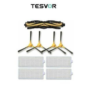 Tesvor Kit A3500 Roller With Side Brushes Replacement Kit For Tesvor Robot Vacuum