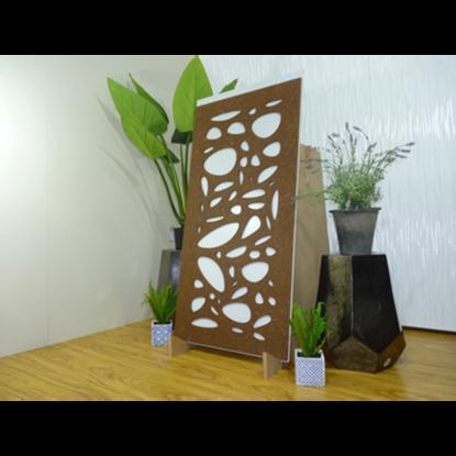Cayman – Australian Compressed Hardwood – Privacy Garden Screens Australian Made – 600 x 1200 mm – 9 mm