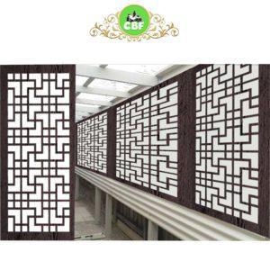 Tokyo - Australian Compressed Hardwood - Privacy Garden Screens Australian Made - 600 x 1200 mm - 9 mm
