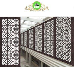 Venice- Australian Compressed Hardwood - Privacy Garden Screens Australian Made - 600 x 1200 mm - 9 mm
