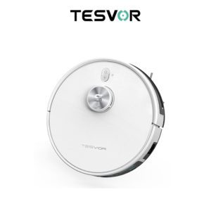 Tesvor S6 Turbo Robot Vacuum Cleaner Mop With Laser Navigation 4000Pa-web ready
