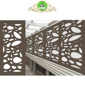 Cayman Australian Compressed Hardwood woodsman raw Privacy Garden Screens Australian Made 600 x 1200 mm 9 mm