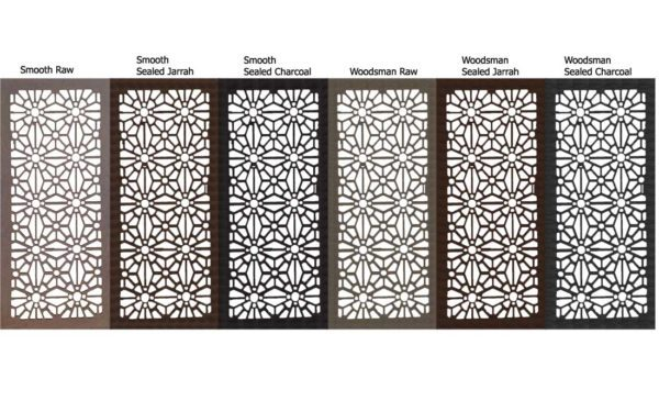 Christchurch – Australian Compressed Hardwood – Privacy Garden Screens Australian Made – 600 x 1200 mm – 9 mm all finishes