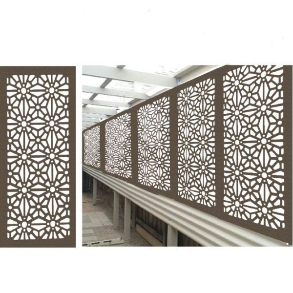 Christchurch – Australian Compressed Hardwood woodsman raw Privacy Garden Screens Australian Made – 600 x 1200 mm – 9 mm