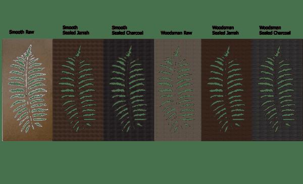 Fern Leaf – Australian Compressed Hardwood – Privacy Garden Screens Australian Made – 600 x 1200 mm – 9 mm all finishes