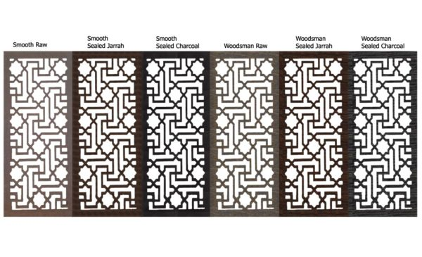 Istanbul – Australian Compressed Hardwood – Privacy Garden Screens Australian Made – 600 x 1200 mm – 9 mm all finishes
